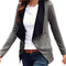 Side Zipper Casual Jacket-Dee SuSu-Dee SuSu