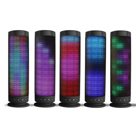 Portable Bluetooth 360 Degree Sound Speaker with LED Lighting Hands Free, Micro SD Slot-Dee SuSu-Dee SuSu