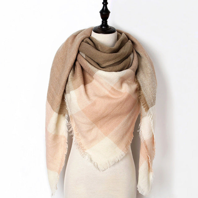 Warm Casual Winter Scarf For Women-Dee SuSu-Color 02-Dee SuSu