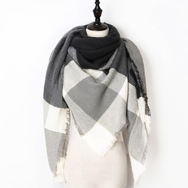 Warm Casual Winter Scarf For Women-Dee SuSu-Color 07-Dee SuSu