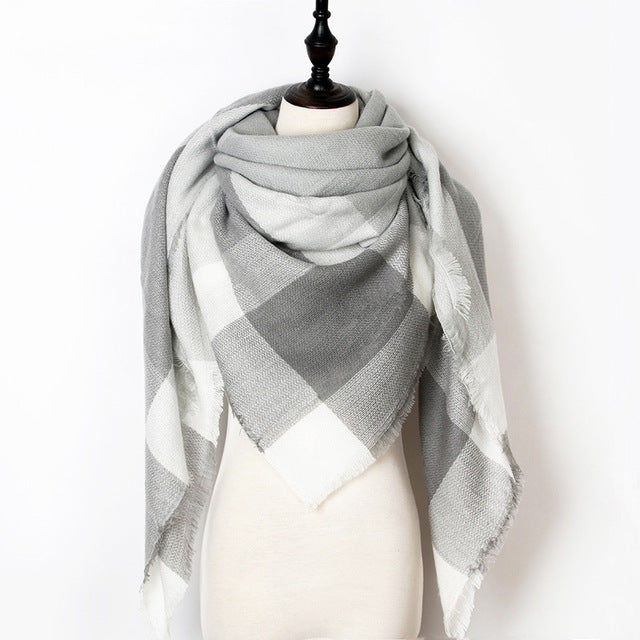 Warm Casual Winter Scarf For Women-Dee SuSu-Color 08-Dee SuSu