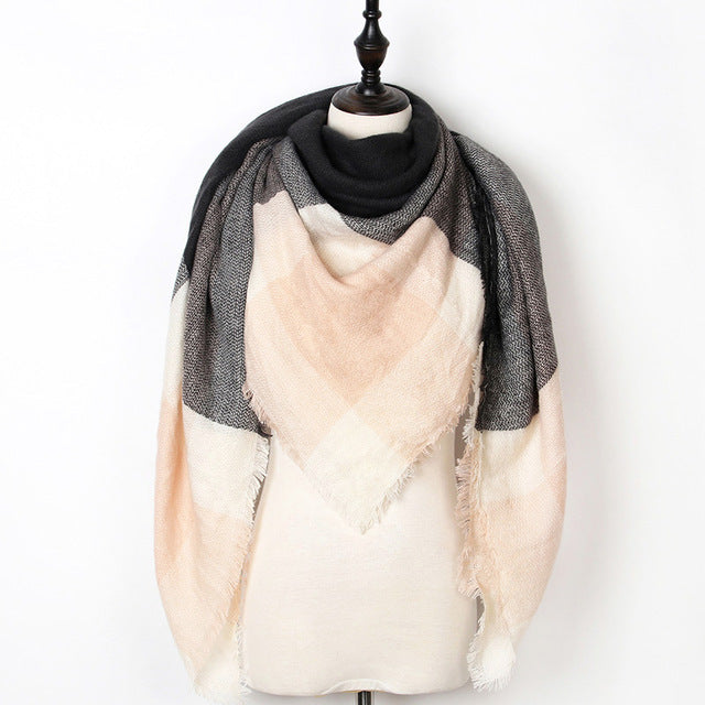 Warm Casual Winter Scarf For Women-Dee SuSu-Color 09-Dee SuSu