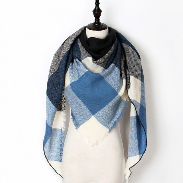Warm Casual Winter Scarf For Women-Dee SuSu-Color 13-Dee SuSu