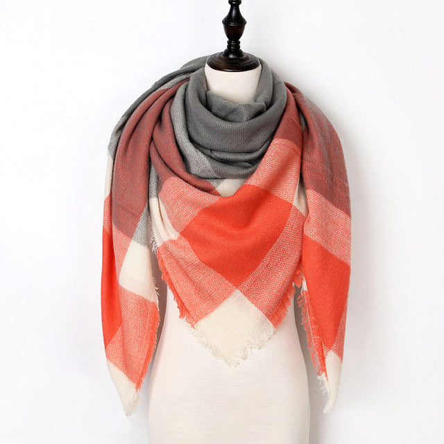 Warm Casual Winter Scarf For Women-Dee SuSu-Color 20-Dee SuSu
