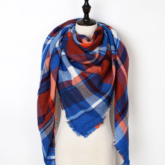 Warm Casual Winter Scarf For Women-Dee SuSu-Color 21-Dee SuSu