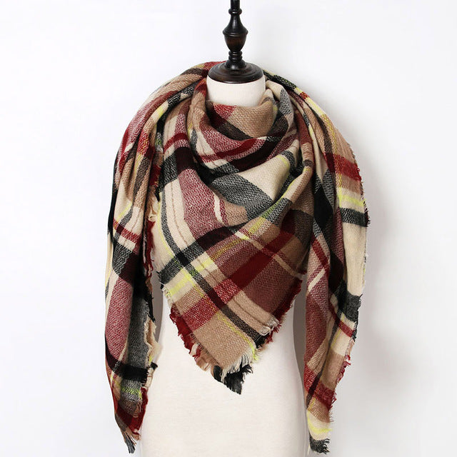Warm Casual Winter Scarf For Women-Dee SuSu-Color 22-Dee SuSu