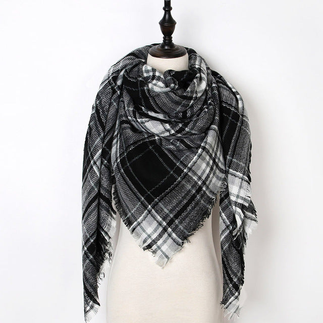 Warm Casual Winter Scarf For Women-Dee SuSu-Color 32-Dee SuSu