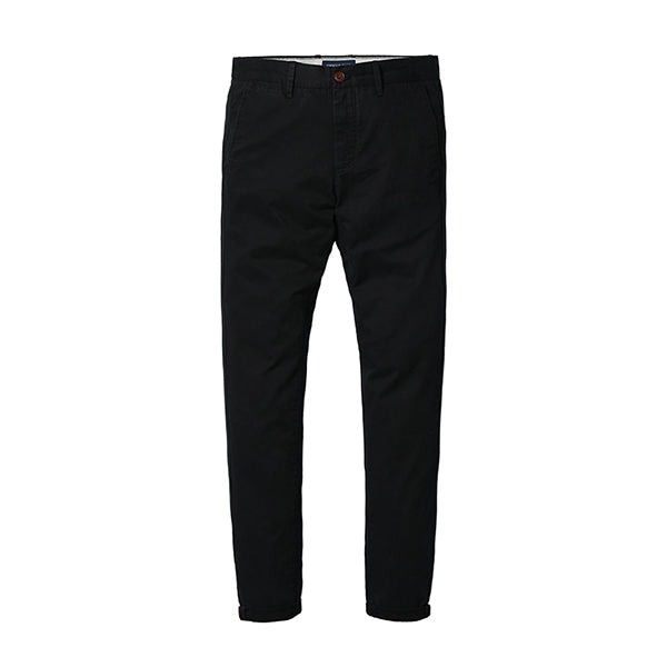 Slim Fit Straight Casual Pants-Dee SuSu-Black 4th-28-Dee SuSu