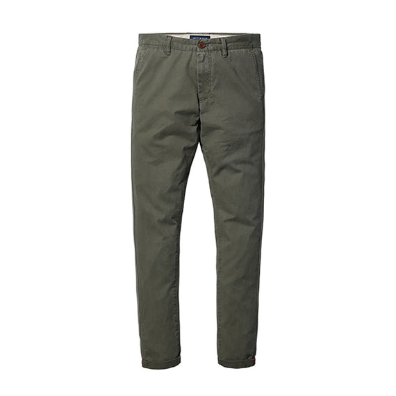 Slim Fit Straight Casual Pants-Dee SuSu-Army green 4th-28-Dee SuSu