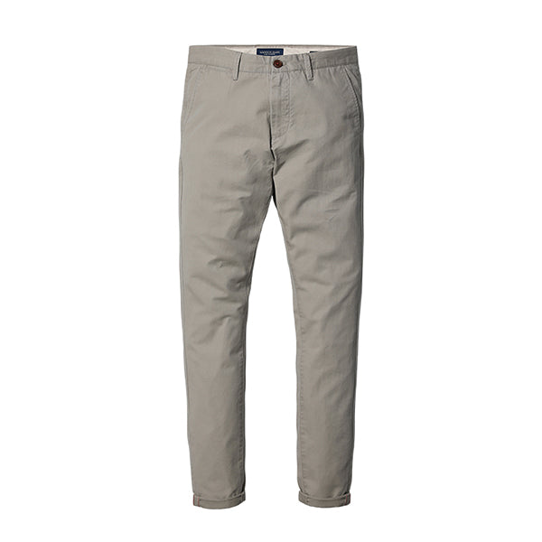 Slim Fit Straight Casual Pants-Dee SuSu-Khaki gray-28-Dee SuSu