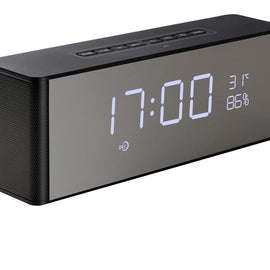 Portable Wireless Bluetooth with TF FM Alarm and digital Clock-Dee SuSu-Dee SuSu