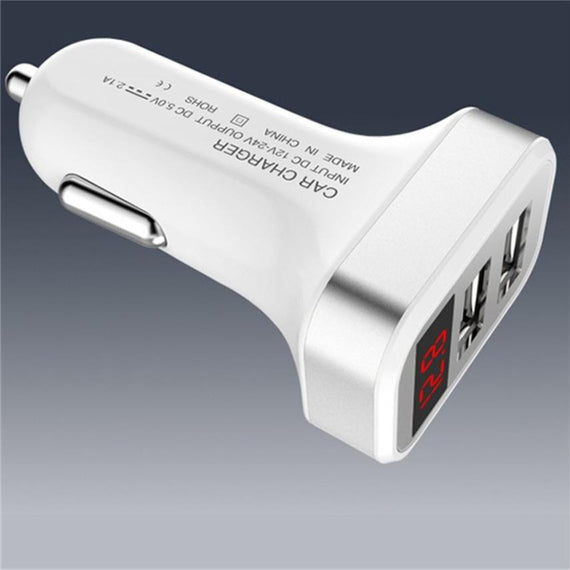 Universal 5V/2.1A 2-Port USB Car Charger with LED light-Dee SuSu-Dee SuSu