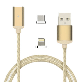 2.4A High Speed Charging Magnetic Cable for iPhones