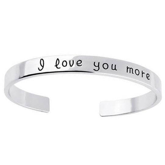Gold Plated - I Love You More Bangle