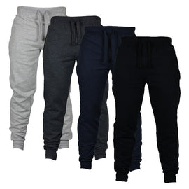 Men's Solid Color Casual Drawstring jogger
