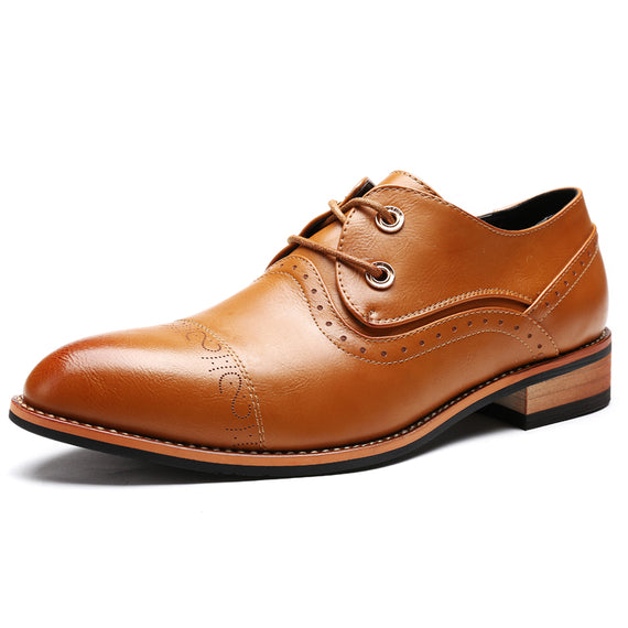 Classic pointed toe dress shoes for men-Dee SuSu-Dee SuSu