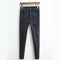 Slim Fit High Waist Denim Jeans Black-Dee SuSu-Dee SuSu
