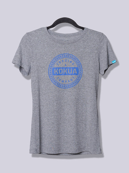 Women's Kokua Circle Purple on Premium Heather