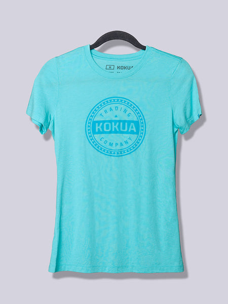 Women's Kokua Circle Blue on Tahiti Blue