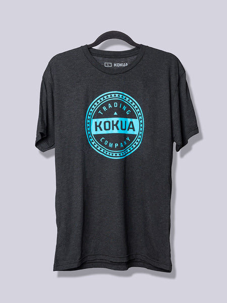 Men's Kokua Circle Blue on Vintage Black