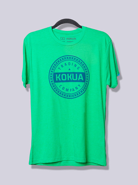 Men's Kokua Circle Blue on Green