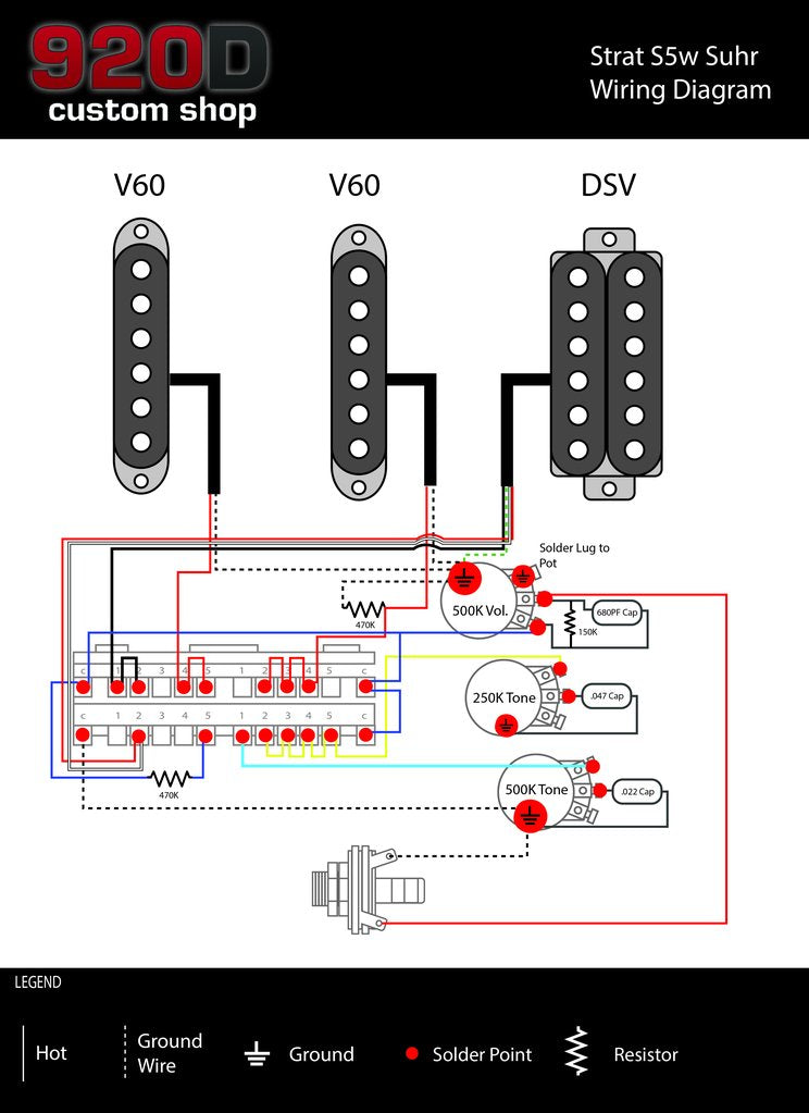 suhr pickup wiring diagram pickup wiring diagram one volume tone