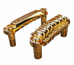 Babicz Full Contact Hardware Tune O Matic Bridge, Gold