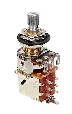 "Bourns 500K Push/Pull Split Shaft Potentiometer (3/8"")"
