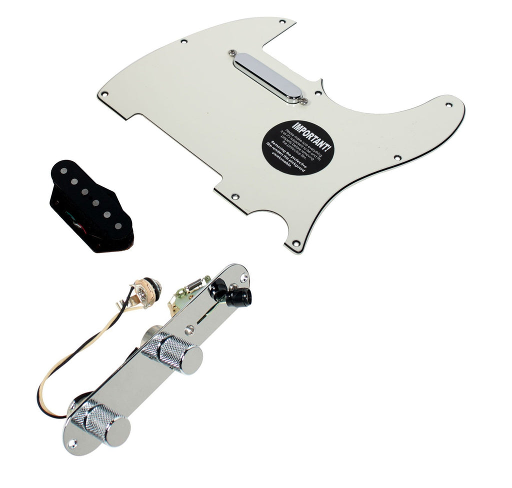 Fender Telecaster Loaded Pickguard Duncan Vintage Broadcaster Pickup Set T3W, PA