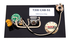920D Custom T3W-CAB-S1 Fender La Cabronita Especial Telecaster 3-Way Wiring Harness w/ S1 Switch