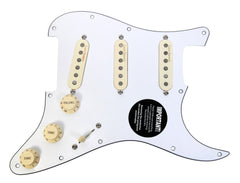 920D Loaded Strat Stratocaster Pickguard Lace Holy Grail 7W Switching WH/AW