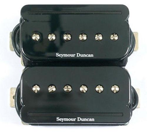 Seymour Duncan 11303-03-B SHPR-1s P-Rails Humbucker Pickup Set, Black