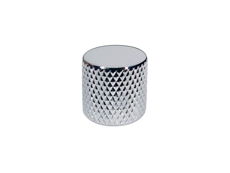 920D Custom MK-2C Knurled Flat Top Knob, Chrome
