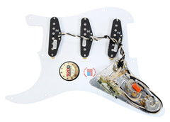 920D Loaded Pickguard Stratocaster Strat Jimi Hendrix Duncan 5-Way White