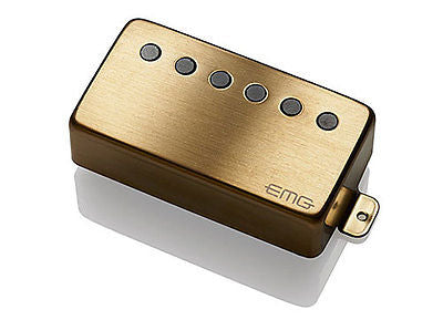 EMG-66BRG Active Alnico V Humbucker Neck Brushed Gold