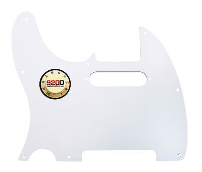 920D Custom Tortoise 3 Ply T Style Cut Pickguard for S Style Neck CNC Precision Cut