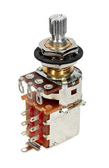 "Bourns 250K Split Shaft Push/Pull Potentiometer (3/8"")"