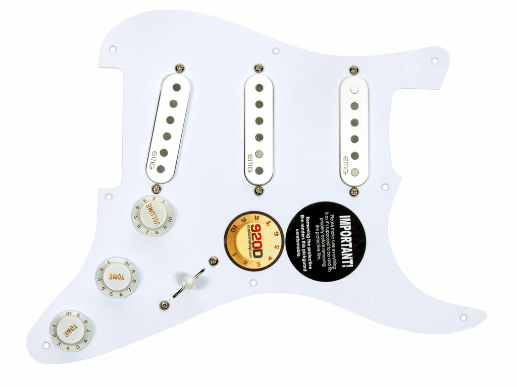 920D Custom Shop EMG-SAV Set Loaded Pickguard on '57 Reissue 1-ply Pickguard