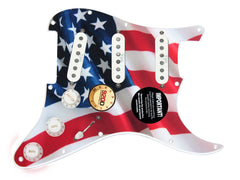 920D Custom Strat Loaded Pickguard Duncan YJM Fury SS/WH