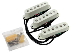 Seymour Duncan 11203-32-WH STK-S10 YJM Fury Noiseless Stratocaster Pickup Set, Off-White