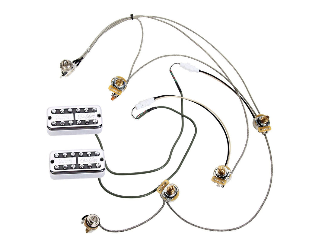 tv jones brian setzer pickups   gretsch electromatic wiring harness w    u2013 920d custom