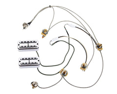 TV Jones Brian Setzer Pickups + Gretsch Electromatic Wiring Harness w/Quick Connect