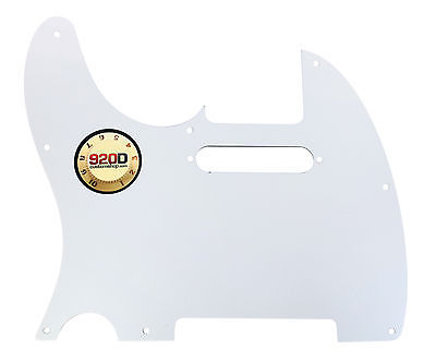 920D CS White Pearl 3 Ply Pickguard for Fender Telecaster Tele CNC Precision Cut