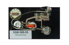920D Custom S5W-500-SS 5-Way HH Stratocaster Harness w/ Superswitch and Auto Splitting