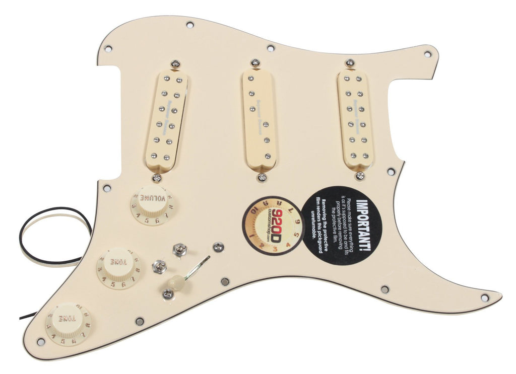 920D Custom Shop Loaded Pickguard Seymour Duncan Everything Axe w/ Coil Split