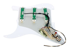 920D Custom Shop Duncan Rails Loaded Stratocaster Strat Pickguard 7 Way AWP/WH
