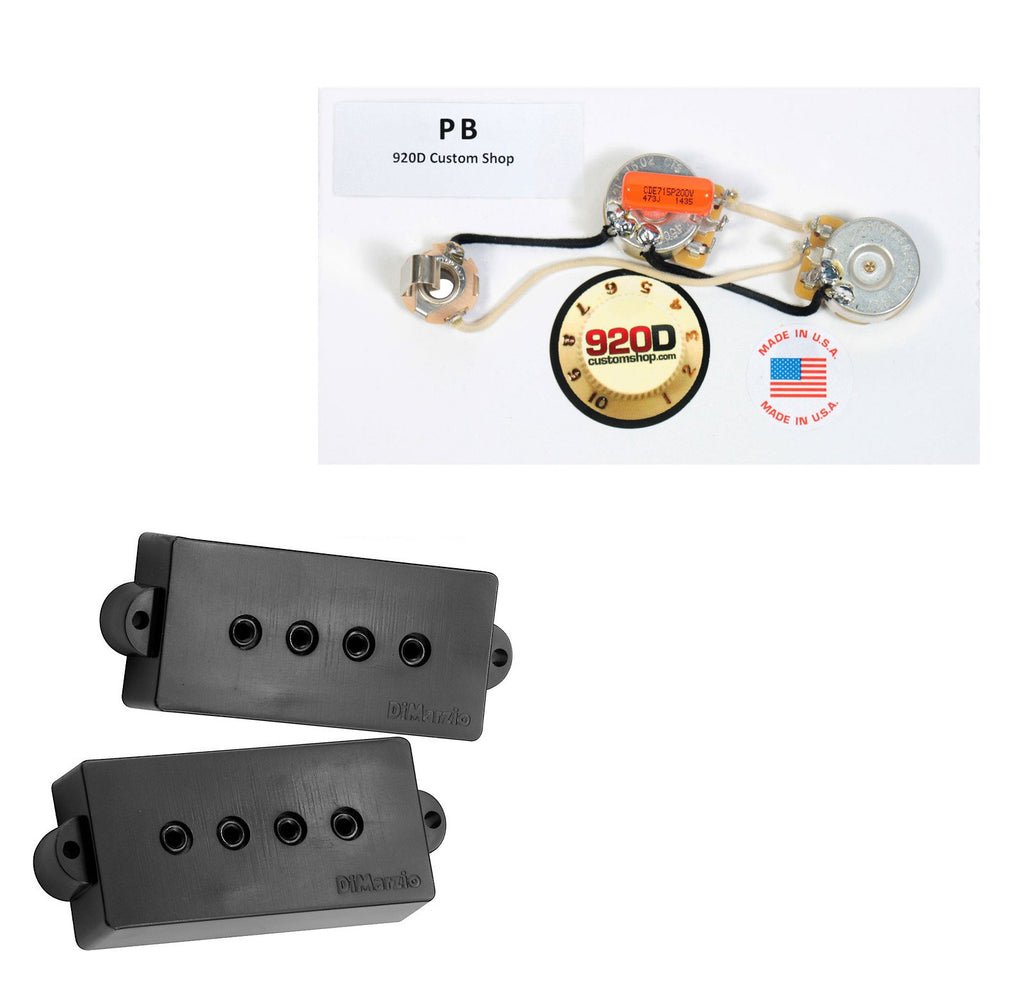 DiMarzio  Bass Pickup Set