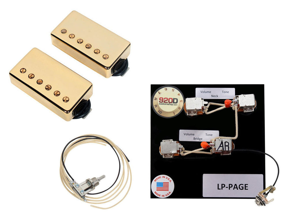 duncan sh 18 whole lotta humbucker set gold lp page t wiring rh 920dcustom com Whole Lotta Humbucker vs PAF Pearly Gates Pickups