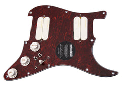920D Lace Sensor Gold HH Splittable Dually Strat Loaded Pickguard TO/WH