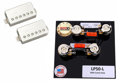 Seymour Duncan Saturday Night Special Set, Nickel + LP 50's Wiring Harness